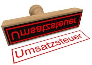 """Stempel """"Umsatzsteuer"""""""